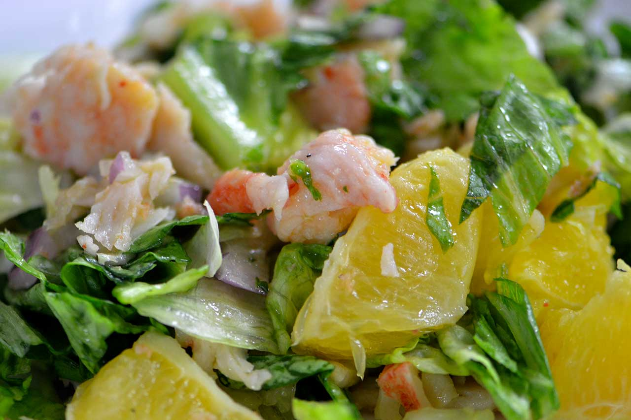 Lobster Salad and Citrus